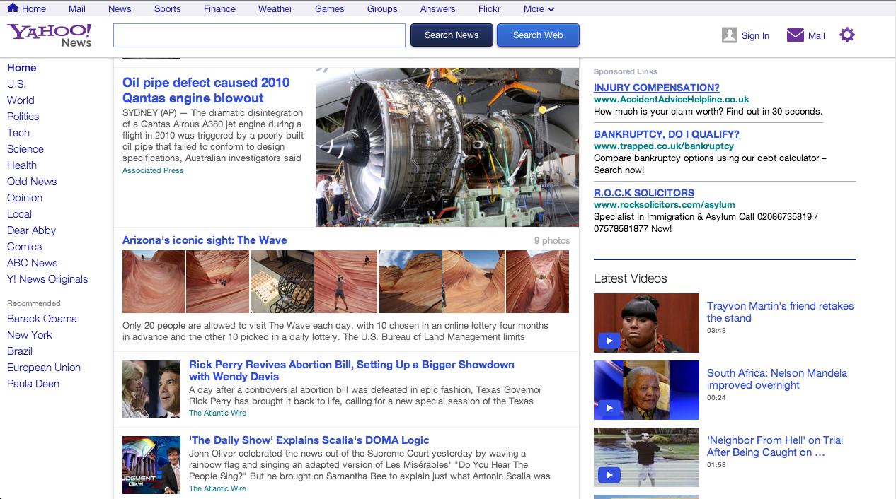 Yahoo news - Screen Shot 2013 06 27 At 15 45 51