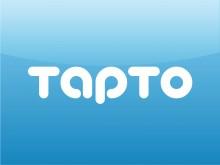 Tapto-logo-blue-bg