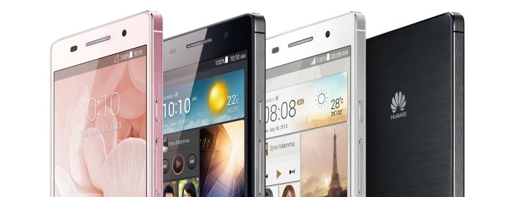 Huawei launches the Ascend P6, the world's slimmest Android smartphone with a 5MP front-facing ...