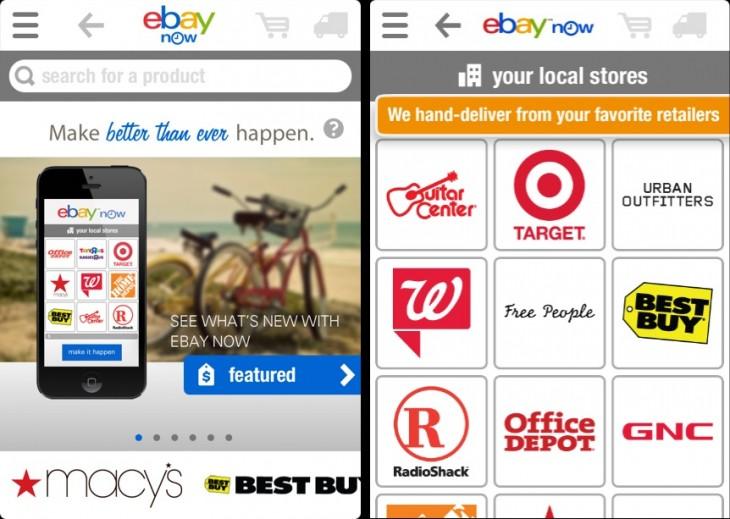 eBay Now Retailers2