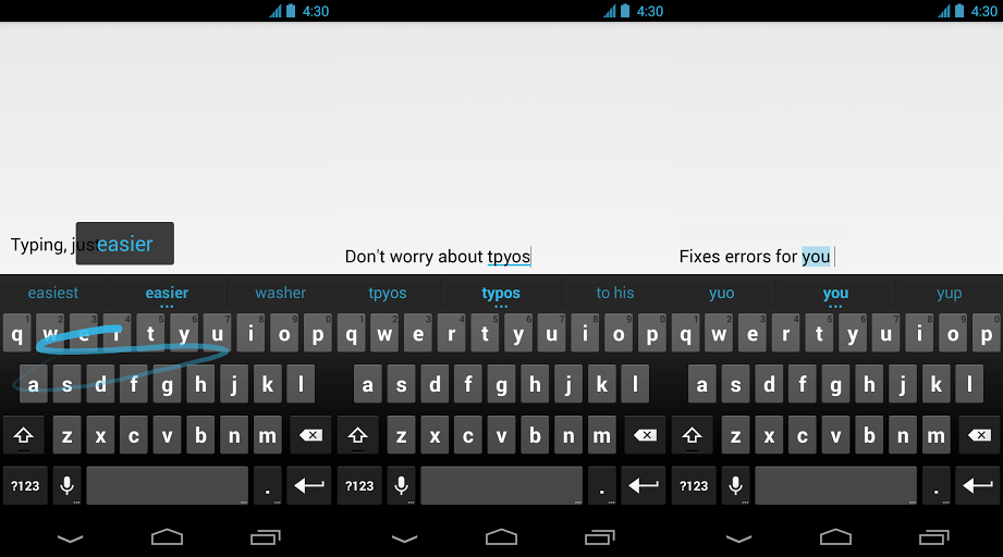 Google Keyboard for Android Arrives on the Play Store