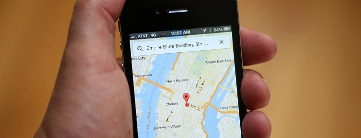 Google Maps for Android and iOS now shows 'relevant' ads at the bottom of the screen after ...