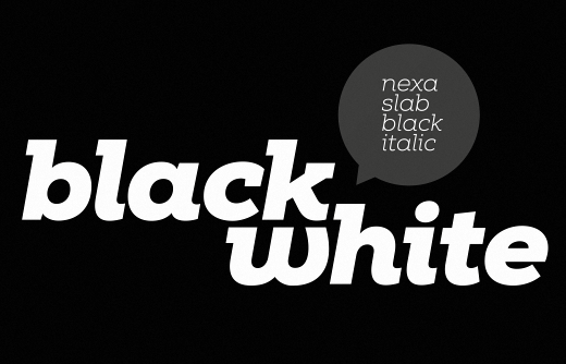 nexa slab The 24 most beautiful typefaces released last month