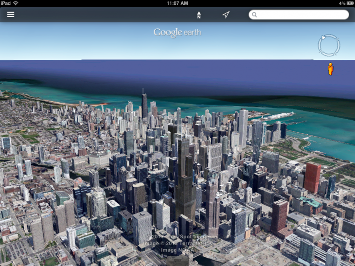 pngbase6417f148b16a273be 730x547 Following Android, Google Earth for iOS gets Street View support, updated search and 3D directions