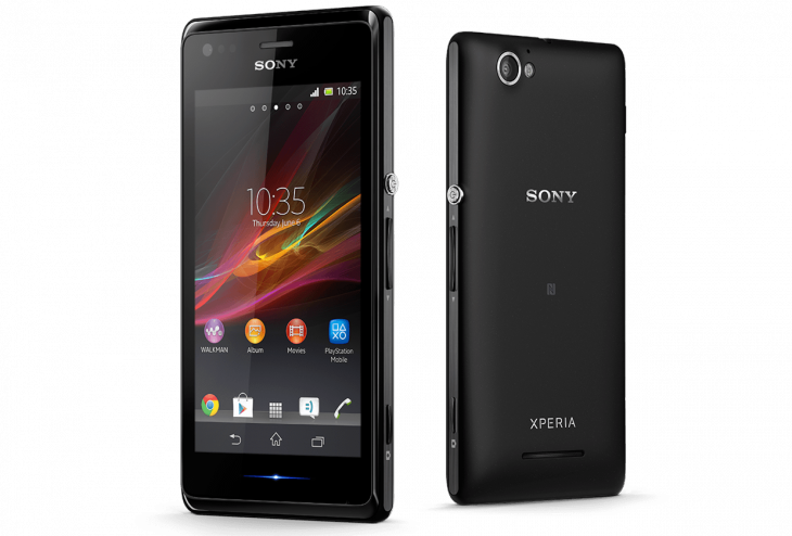 "xperia m gallery 02 1240x840 1f2efdece1a5bed54e6e8e0a0a12ce35 730x494 Sony unveils Xperia M Android smartphone with a 4"" display, dual core processor and 5MP camera"