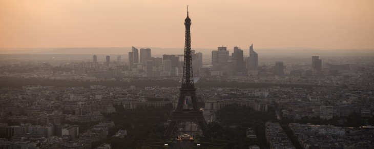 Google expands Street View to the top viewing platform of the Eiffel Tower for the first time