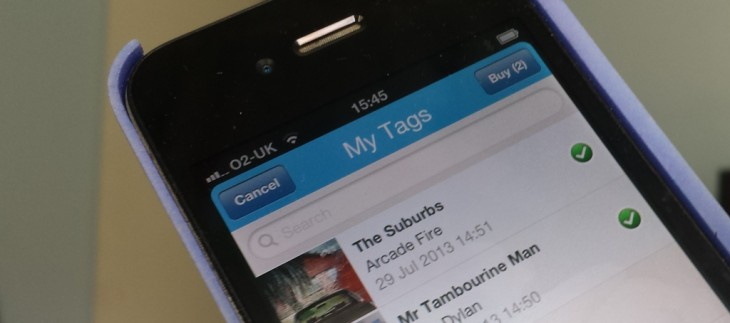 Buy in bulk: Shazam for iOS now lets you purchase multiple tagged-songs simultaneously