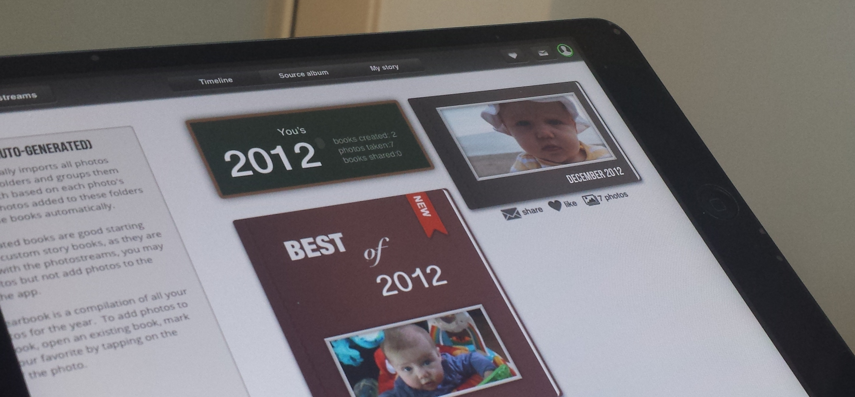 Tapsbook for iPad Turns Your Photos into Albums