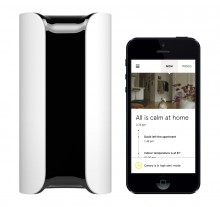 Canary Device and App 220x207 Canary smartphone connected home security monitor is now available to pre order, unexpectedly