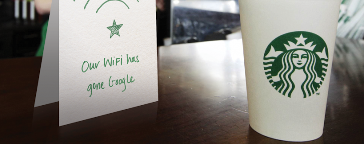 Google to roll out free 'speedier' WiFi at 7,000 Starbucks stores in the US