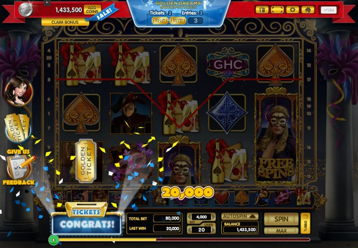 GCPlus Golden Ticket Dist 730x505 Zynga doesn't, so RealNetworks does: Media company unveils its US social casino game for real money