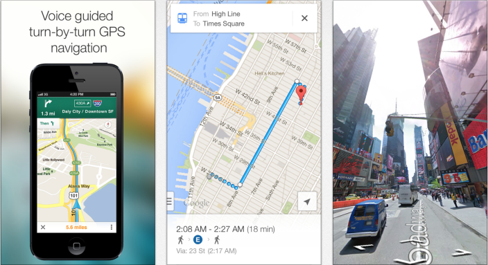 Google Maps iOS update brings offline navigation and up-to ... on google offline maps, windows offline maps, nokia offline maps, nokia here maps, android offline maps,