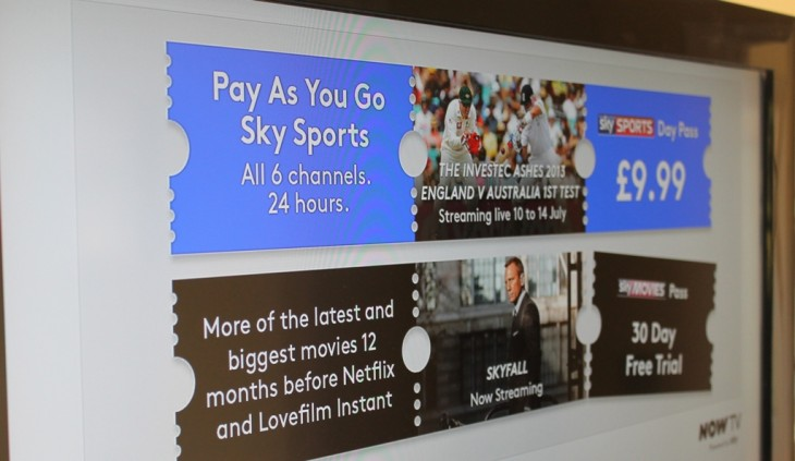 Now TV lands on PlayStation 3 in the UK, bringing contract-free Sky Movies and Sky Sports
