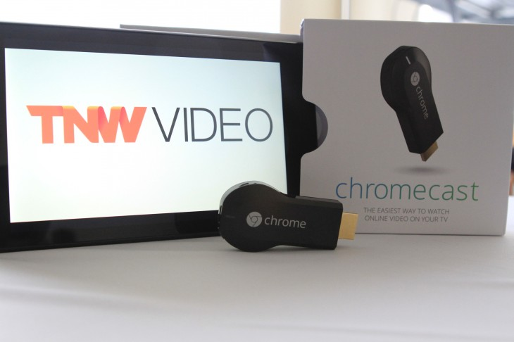 Hands on with Google's Chromecast, a tiny set-top box for the Web
