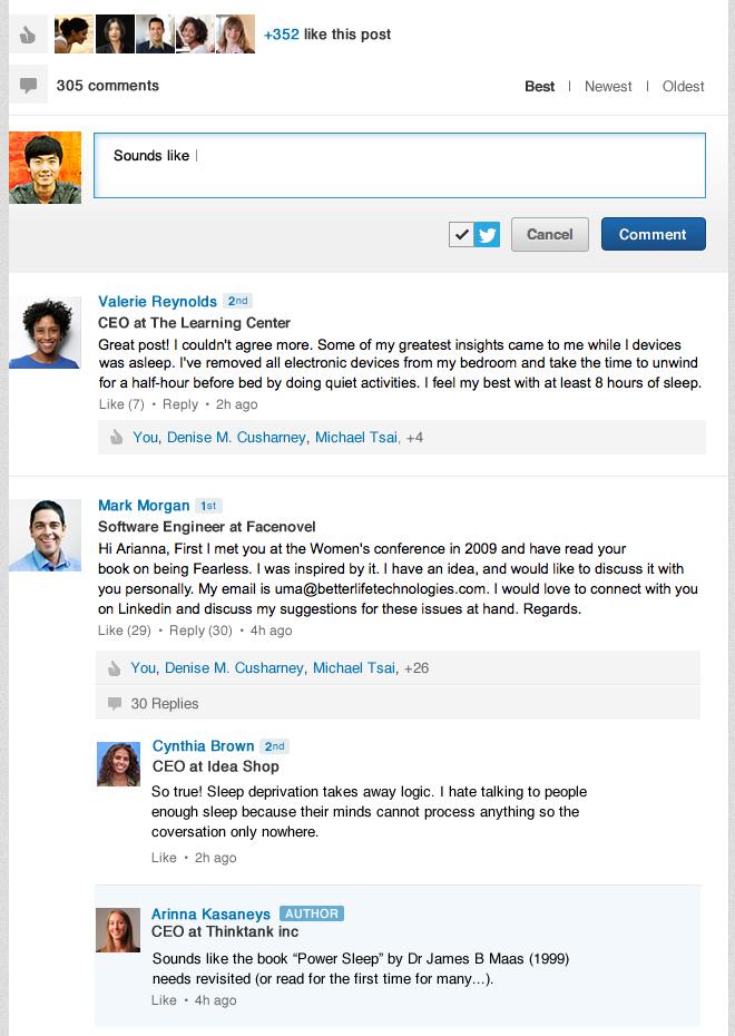 Influencer-Comments-Sreenshot