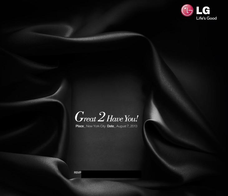 LG Save the Date Invitation