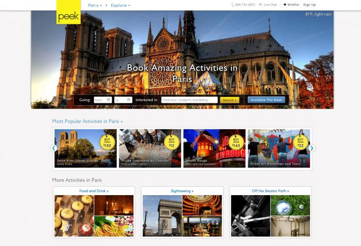 Paris Region Page