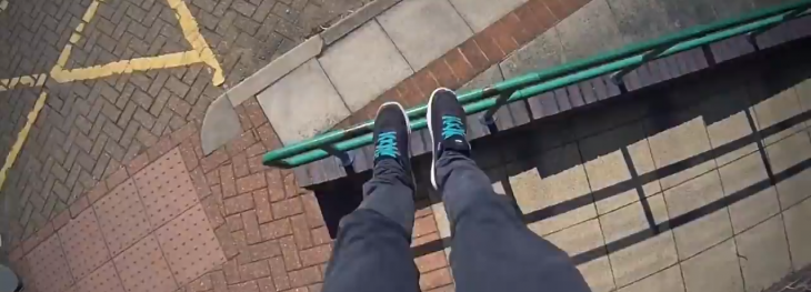 This video lets you experience the most breathtaking parkour from a free runner's point-of-view ...