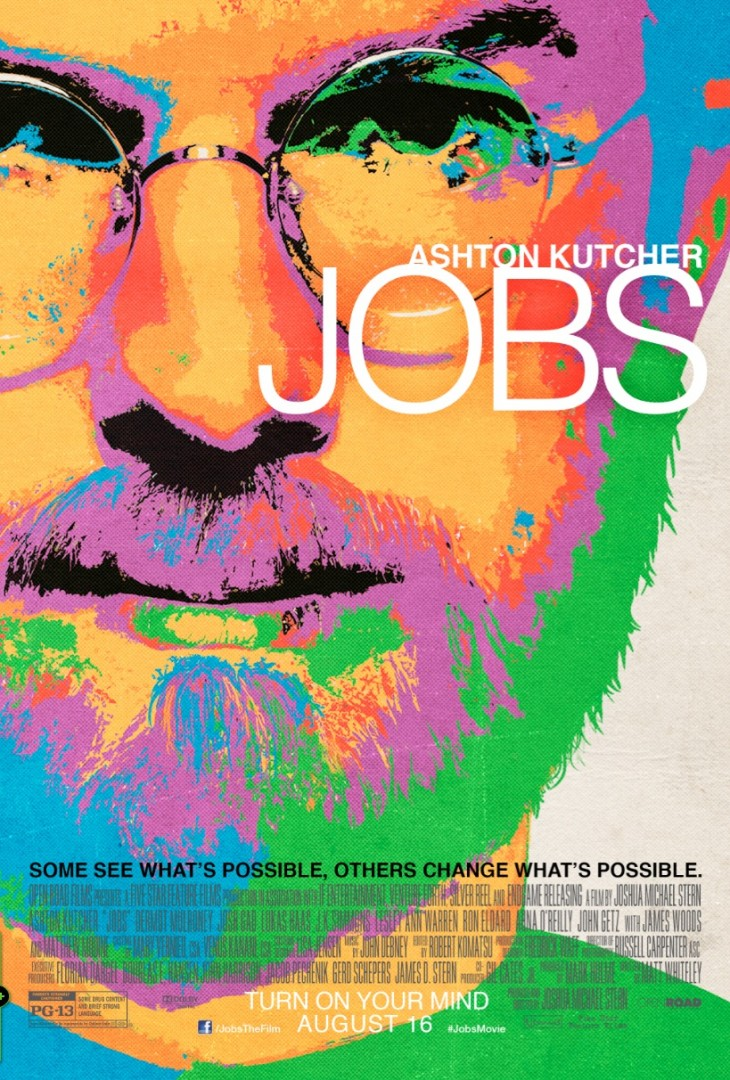 Screen Shot 2013 07 03 at 9.12.32 AM 730x1080 Ashton Kutchers Jobs releases LSD inspired theatrical poster and new official images