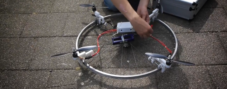3D printable 'Drone It Yourself' kit turns almost anything into an unmanned aerial vehicle ...