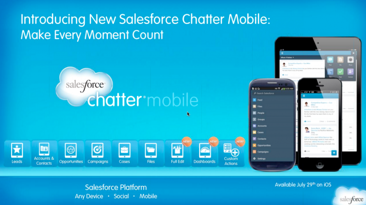 Screen Shot 2013 07 22 at 11.05.40 AM 730x410 Salesforce's Chatter iOS app to get record editing, analytics and customizable actions