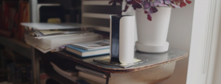 Canary's multi-sensor security hub learns about your home and alerts you whenever something is ...