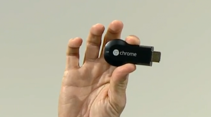 Screen Shot 2013 07 24 at 17.50.33 730x407 Google unveils Chromecast, the $35 HDMI plugin that streams online videos to your TV