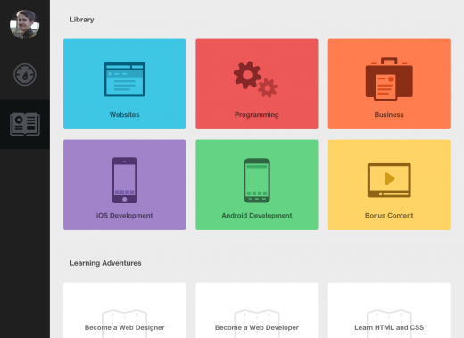 THiPad 01 520x379 Tech education startup Treehouse branches out to the iPad with a new app