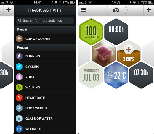 argus1 Argus for iOS is a unified health app tracking your daily exercise, diet, sleeping pattern and more