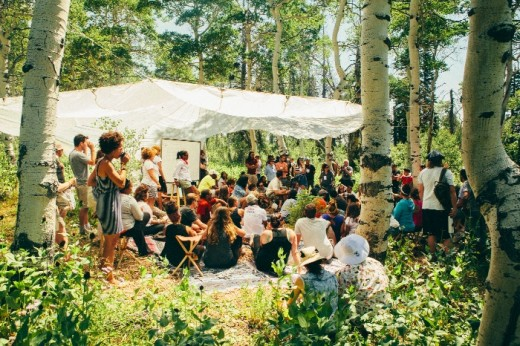 discussion about trayvon martin 520x346 Entrepreneurs gather in Eden for the first Summit Outside