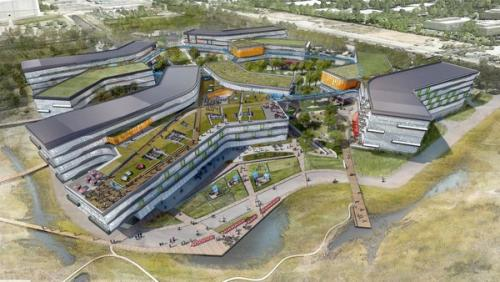 g1 Development of Googles new Mountain View campus up to one year behind schedule
