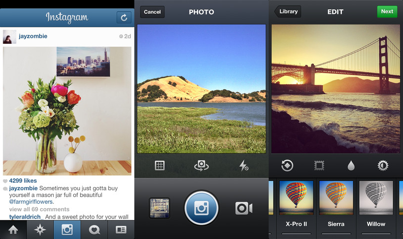 instagram for ios gets landscape shooting cinema front
