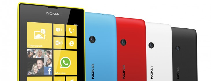 Nokia and Microsoft's downmarket strategy validated? Lumia 520 is reportedly the most popular Windows ...