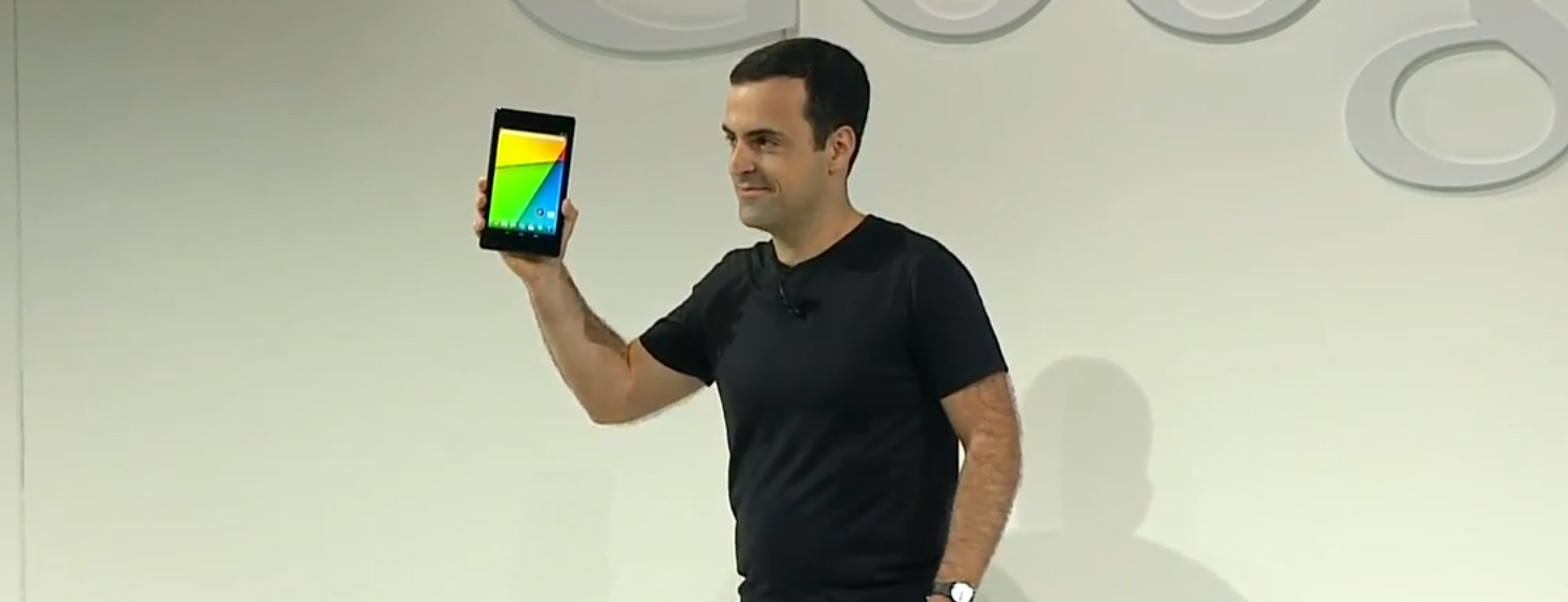 Google Publishes Factory Images for New Nexus 7