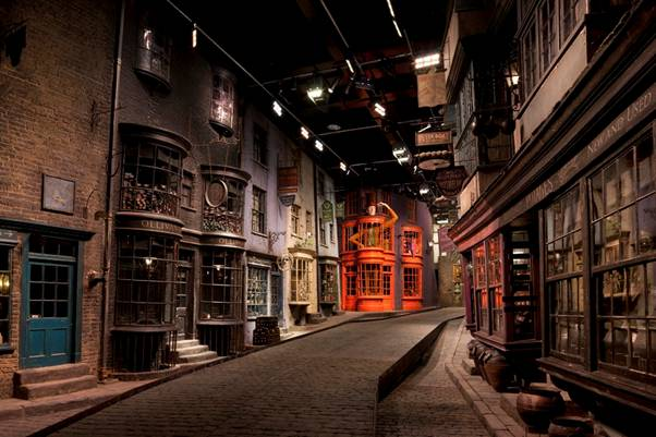 Google Maps street view lets you explore Harry Potters Diagon Alley at the WB Studio Tour London