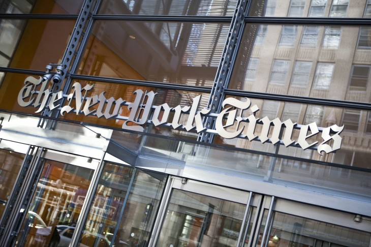 The New York Times' website and mobile apps back online after 'technical difficulties' ...