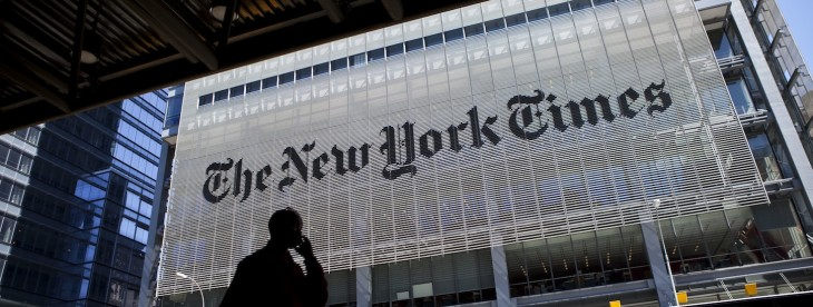 The New York Times launches a Web app featuring just the content from the print edition