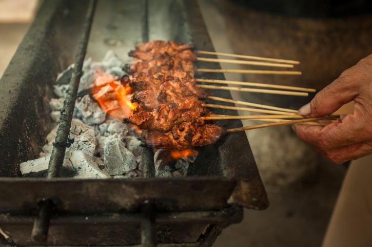 Куриные шашлычки Сатай Рецепты азиатской кухни с фото