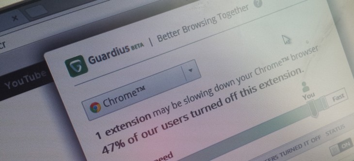 Guardius tells you which of your browser add-ons suck, by tapping the 'wisdom' of the crowd ...