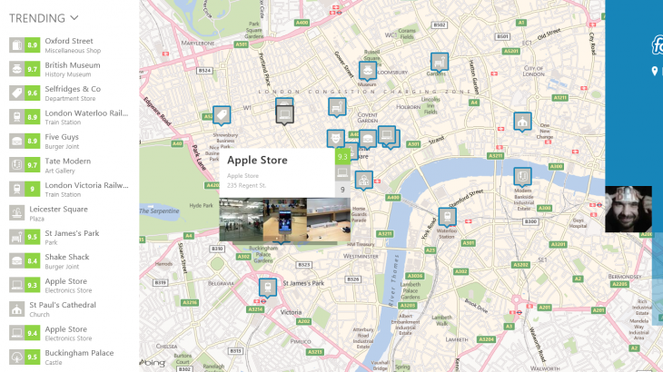 4sq map1 730x410 20 of the best apps released in August