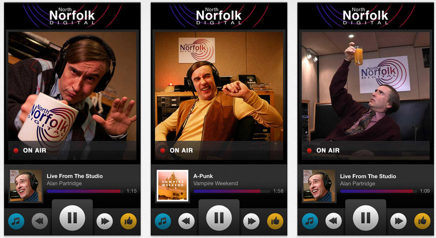 You Can Listen to Alan Partridge on North Norfolk Digital