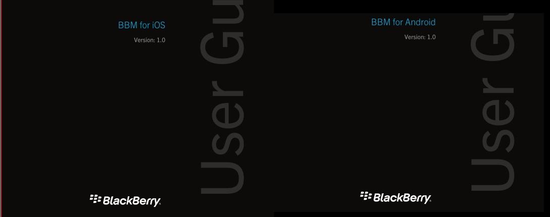 BBM_UserGuides