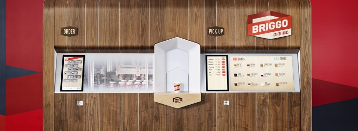 Briggo's robot-powered Coffee Haus lets you order and track a hot cup of Joe with your smartphone ...