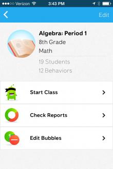 ClassDojo mobile class page2