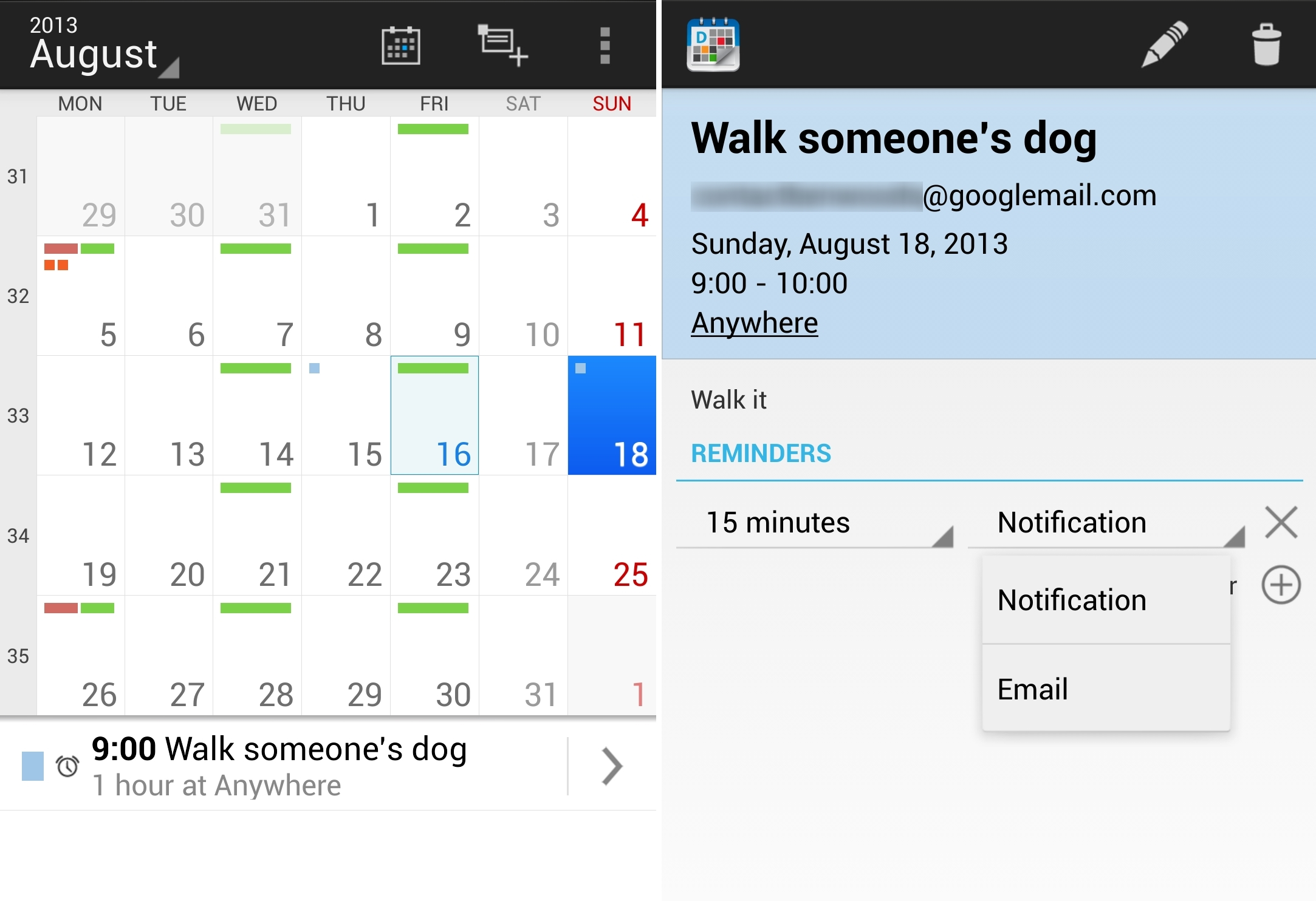 DigiCal 1 12 of the best calendar apps available for your Android smartphone today
