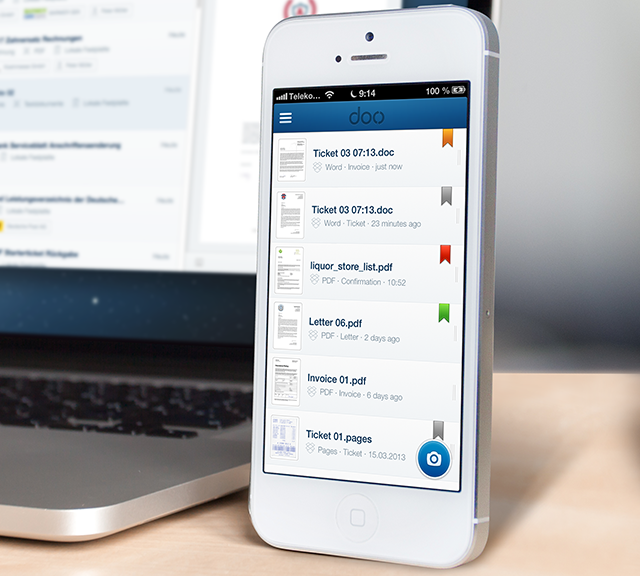 Doo Document management app Doo lands on iOS bringing updates for OS X and Android along with it
