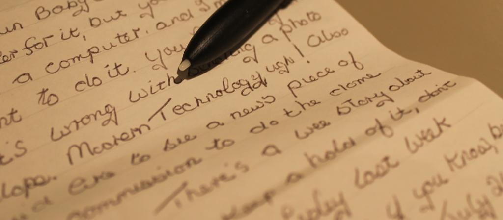 The Future of Handwriting