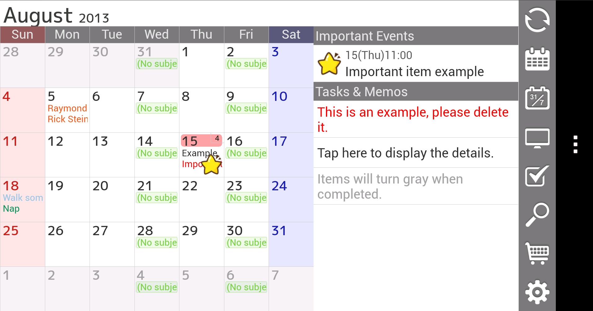 Android Calendar.12 Of The Best Calendar Apps Available For Your Android Smartphone