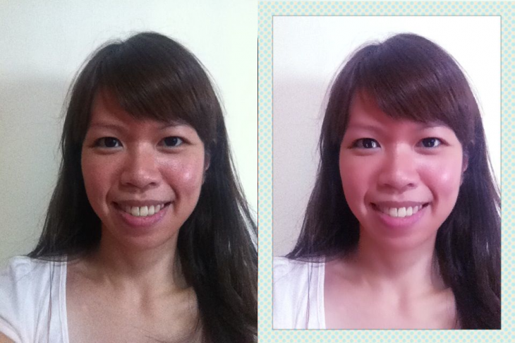 Beauty Booth for Android and iOS - before and after