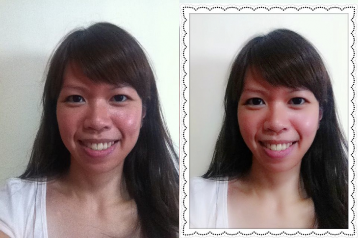 Photo Wonder for Android and iOS - before and after